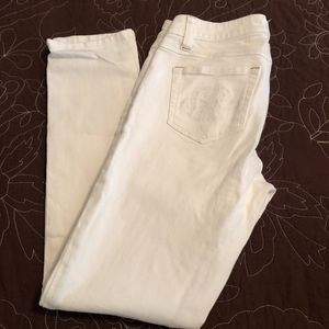 CAbi Style #336 Bree White Skinny Jeans Sz 2 29 IS